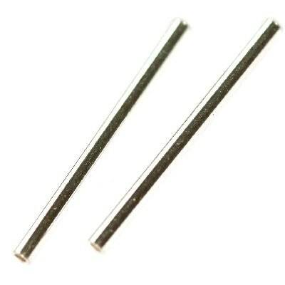 sterling silver 925 tube straight 20 mm