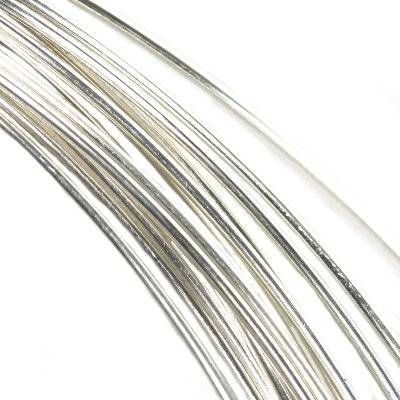 sterling silver 925 silver wire 0,4 mm