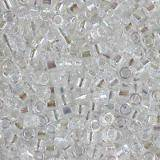 Miyuki Delica transparant ab crystal 1.6 x 1.3 mm DB-0051