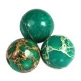 imperial jasper round turquoise 6 mm естествен оцветен камък