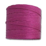nici S-LON Tex 210 0.5 mm magenta - nić do beadingu