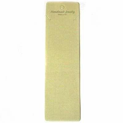 kort til halskæde 6 x 21 cm