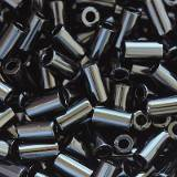 Toho beads bugle opaque jet 3 mm TB-01-49
