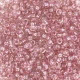 Miyuki kralen round 11/0 fancy lined soft pink #11-3639