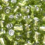 koraliki drobne szklane miętówki 3.5 mm