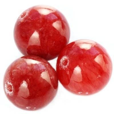 marmur malinowy szklisty 8 mm kamień naturalny barwiony