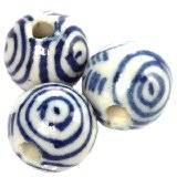 boules en porcelaine traditionnelles 12.5 mm