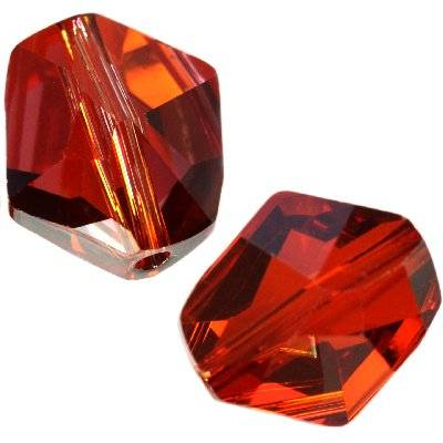Swarovski cosmic beads crystal red magma 12 mm
