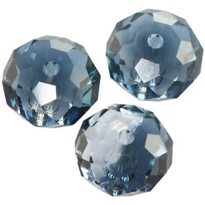 Swarovski briolette beads crystal - mont. blend 8 mm