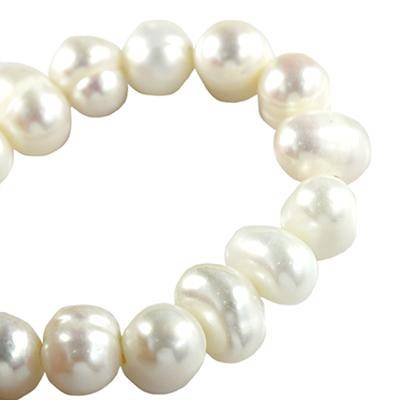natural pearls, creamy 5-6 mm
