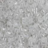 Perles Miyuki Delica ceylon crystal 1.6 x 1.3 mm DB-0231