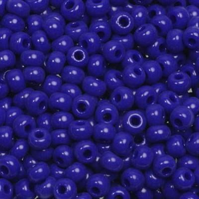 Miyuki round beads opaque cobalt 8/0 #8-414
