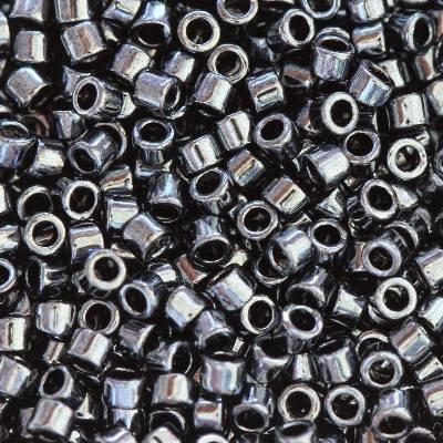 Toho beads treasure metallic hematite 1,8 mm TT-01-81