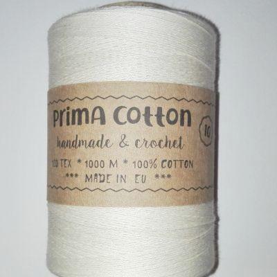 Primacotton™ cotton thread for crochet natural / crocheting thread