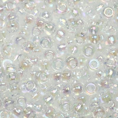 koraliki Miyuki round transparant ab crystal 8/0 #8-250