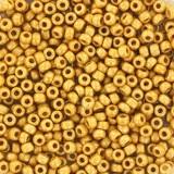 koraliki Miyuki 11/0 duracoat galvanized matte gold #11-4202F
