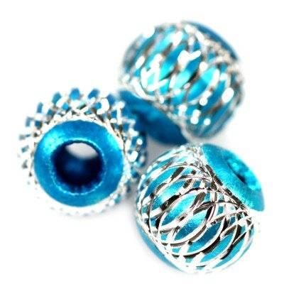 bolas de aluminio azuladas 12 mm