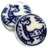 pastilles en porcelaine traditionnelles 19 mm