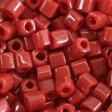 perles Toho cube opaque pepper red 1.5 mm TC-01-45
