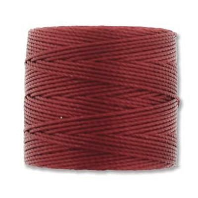 S-lon bead cord tex 210 red hot