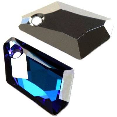 Swarovski de-art pendants crystal bermuda blue p 18 mm