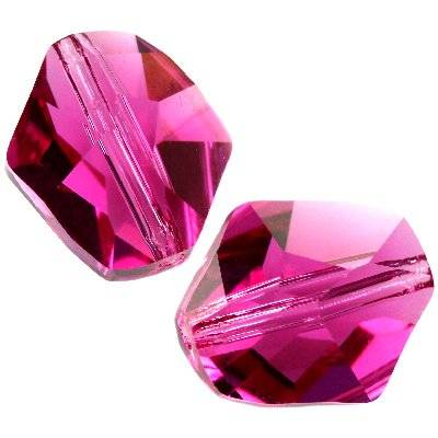 Swarovski cosmic beads fuchsia 12 mm