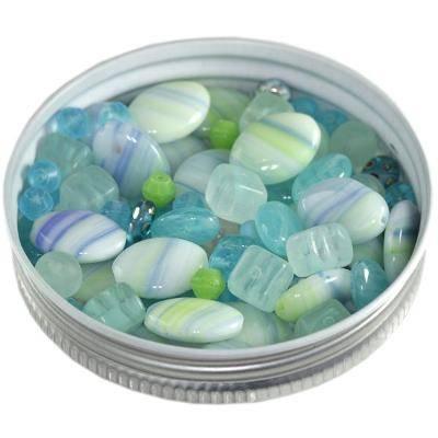 Preciosa Perlen mix caribbean