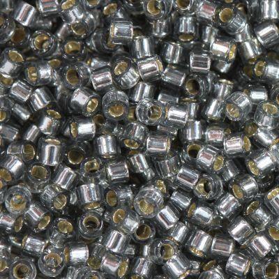 Miyuki Delica silver lined grey 1.6 x 1.3 mm DB-48