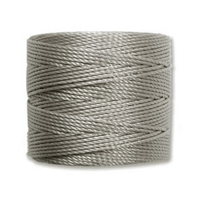 nici S-LON Tex 210 0.5 mm silver - nić do beadingu