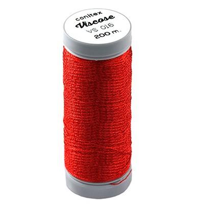 nici wiskozowe conitex™ czerwona / nić do haftu