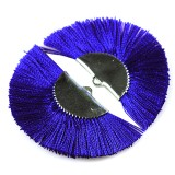 tassels metal clamp blue 4.5 cm