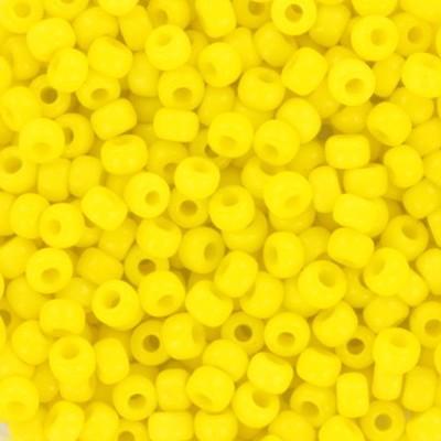 Perline Miyuki round opaque yellow 8/0