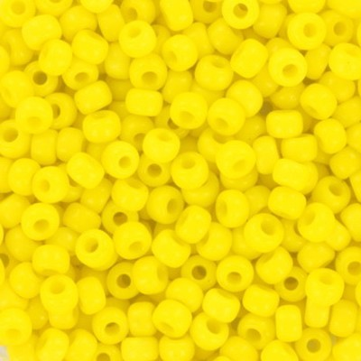 koraliki Miyuki round opaque yellow 8/0 #8-404