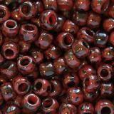 perline Toho round hybrid pepper red - picasso 3 mm TR-08-Y304