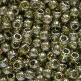 koraliki Toho round gold-lustered green tea 2.2 mm TR-11-457