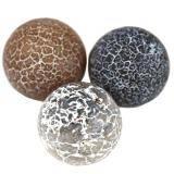 Pietra agata fire perline brown 10 mm / Pitere dure