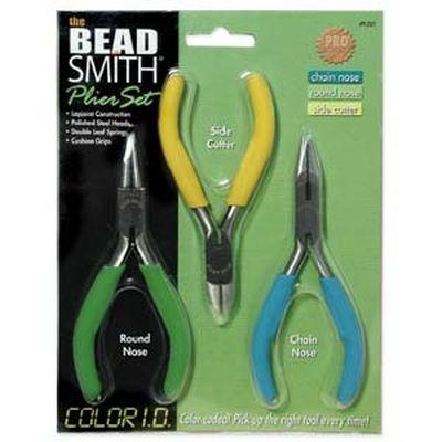 Beadsmith 3 piece economy plier set