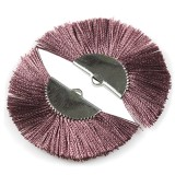 tassels metal clamp violet 4.5 cm