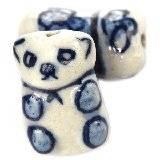 pandy porcelanowe tradycyjne 17 x 11 mm