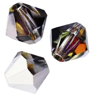 Swarovski bicone beads crystal volcano 6 mm