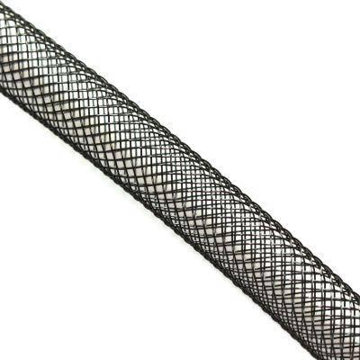 tube de maille filet noir 6 mm