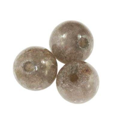 jadeit dymny 4 mm kamień naturalny barwiony