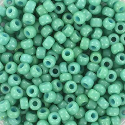 Miyuki round beads duracoat opaque sea opal 8/0 #8-4475