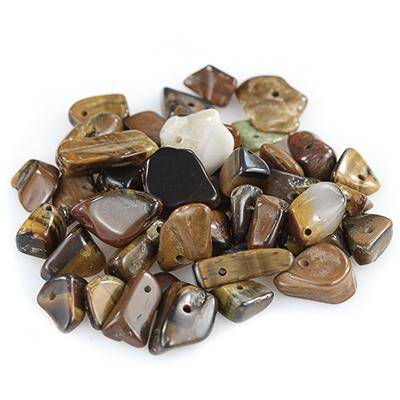 tiger eye big chips / semi-precious stone