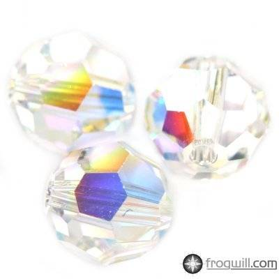 Swarovski round beads crystal ab 4 mm