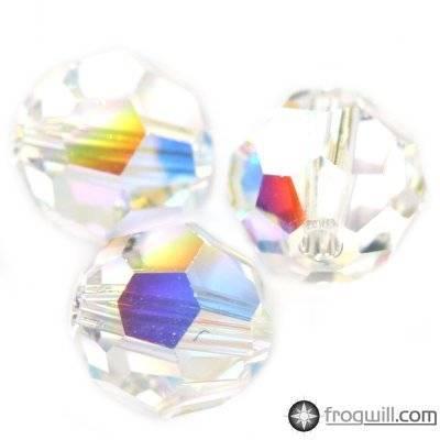 Swarovski round beads crystal ab 4 mm
