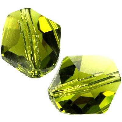 Swarovski cosmic beads olivine 12 mm