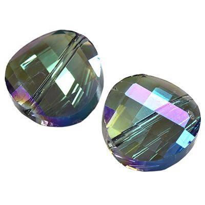 kryształki koło skręcone ab 14 mm