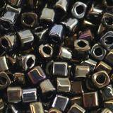 Toho cube metallic iris brown 1.5 mm TC-01-83