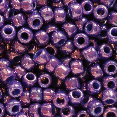 Toho round higher-metallic grape 2.2 mm TR-11-461